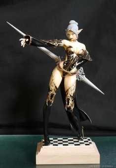 1/6 Lineage II - Dark Elf Female