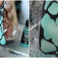 Abschnitt III - Airbrush - Details mit Farbverlauf sprühen